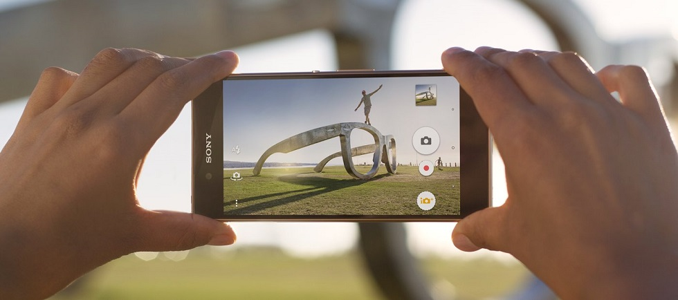 new smartphone sony z3 plus camera