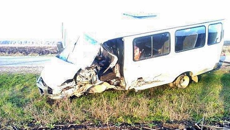 Газель после аварии