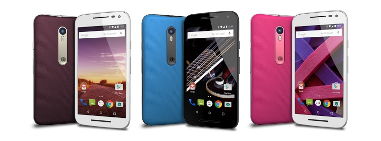 Motorola Moto G 3rd three colors camera thebestvideo ru