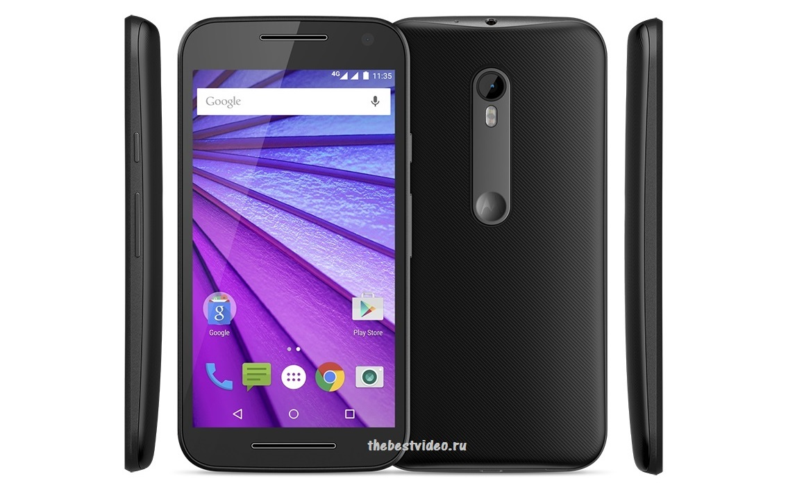 Motorola Moto G gen 3 around thebestvideo