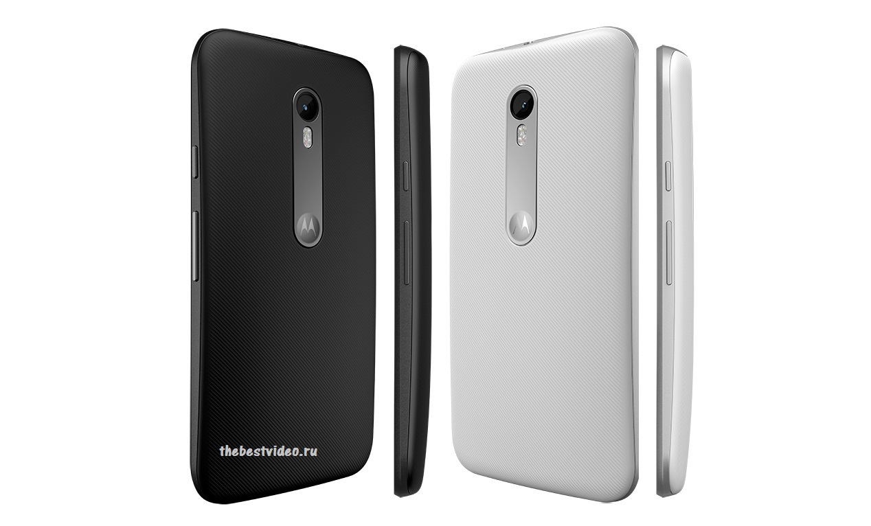 Motorola Moto G gen 3 thebestvideo ru black and white colours mark