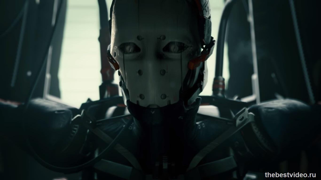 adam film robot face