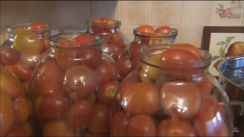 pomidori v 3h litrovih bankah