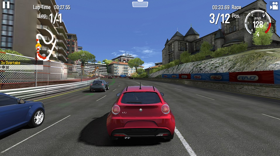 gt racing 2 android igra