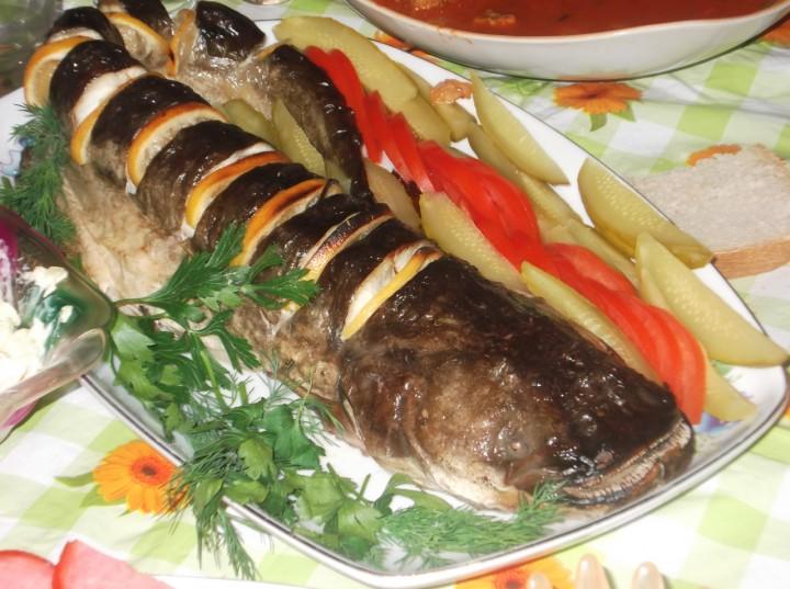 Блюдо из сома в картинках